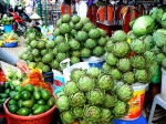Artichokes in the market